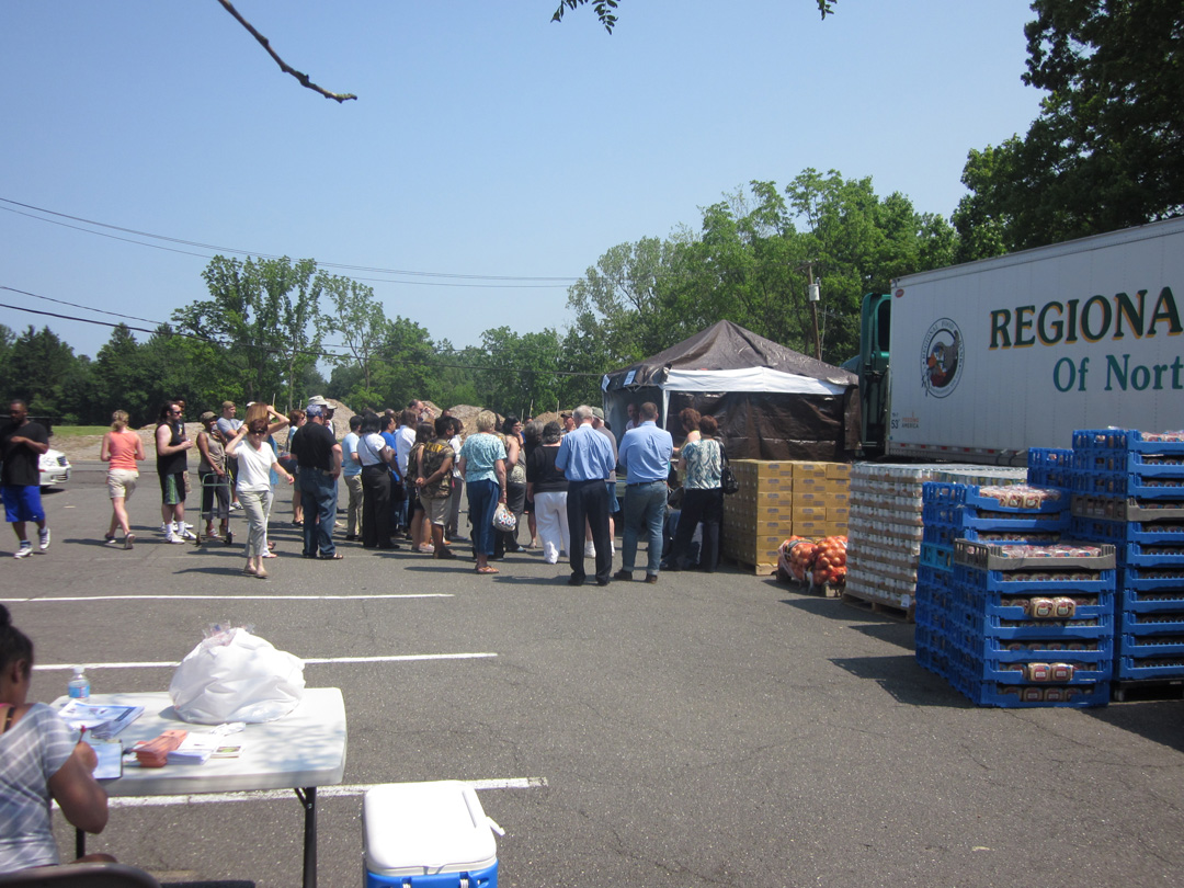 Rockland Community Against Hunger media day