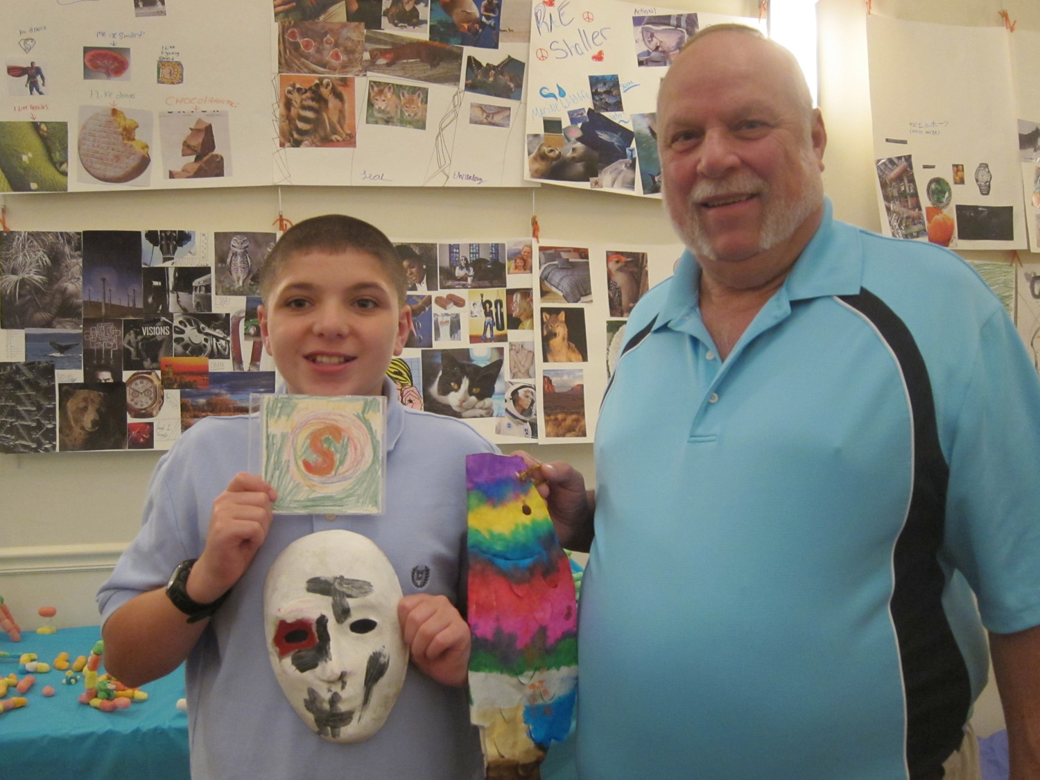 RJFS TTE shaun with art and dad